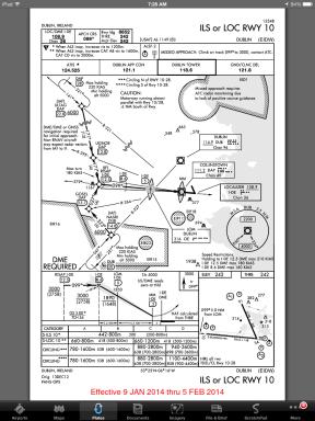 DOD approach plate