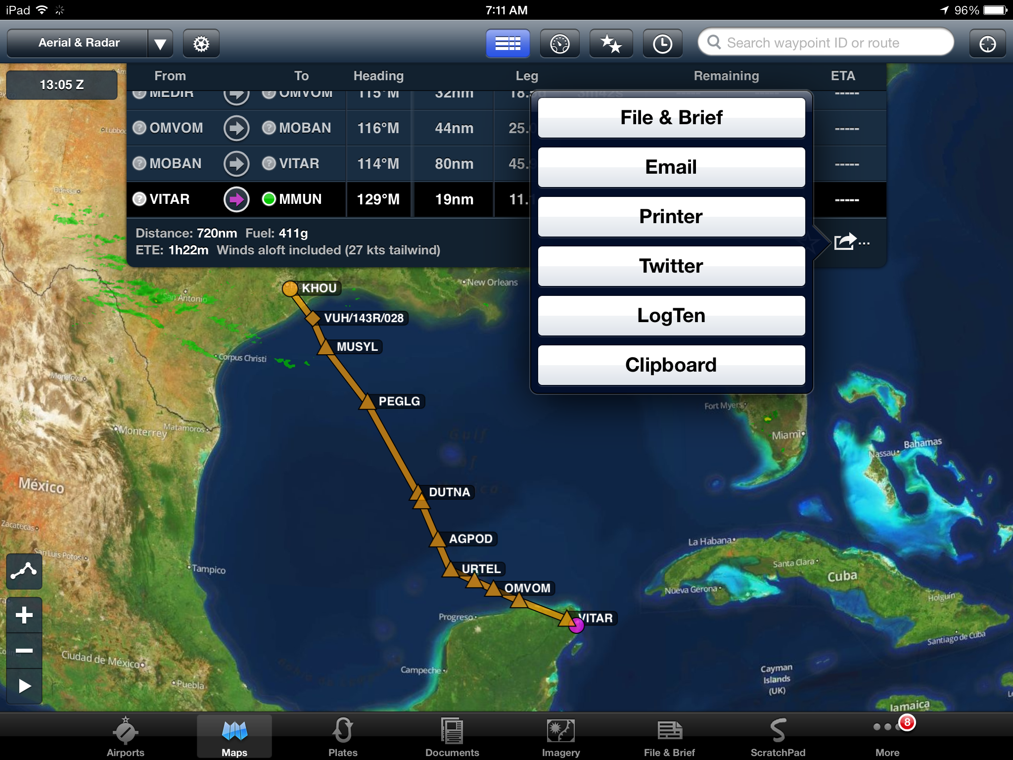 flight plan | ForeFlight