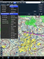 ForeFlight 5.6.1 Maps view