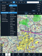 ForeFlight 6 Maps view