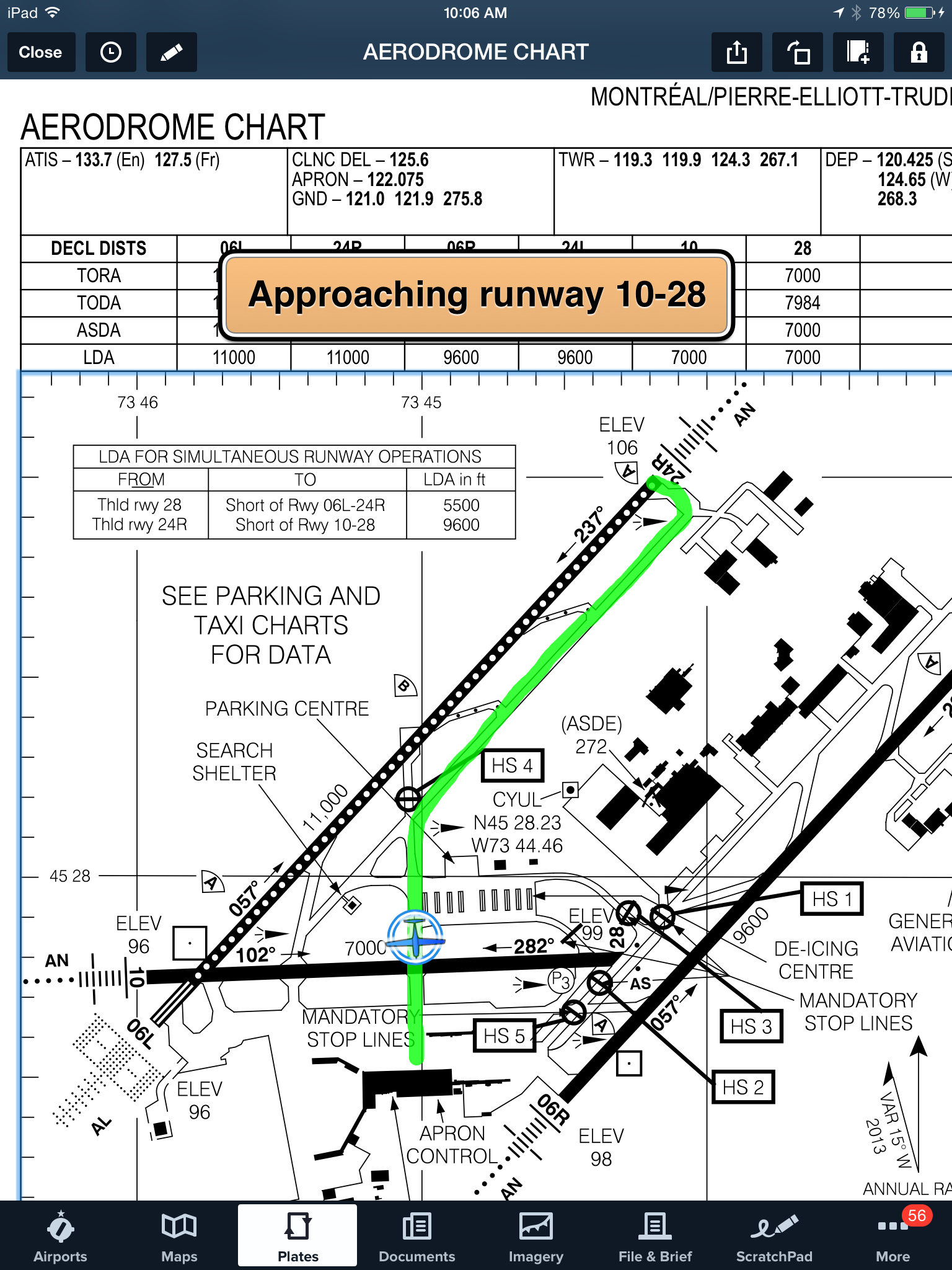 Geo referenced airport diagram shown with annotations and runway geo referenced airport diagram shown with annotations and runway proximity advisor pooptronica