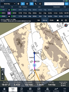 See your position on D-FLIP approach plates in the moving map view.