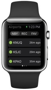 ForeFlight for Apple Watch