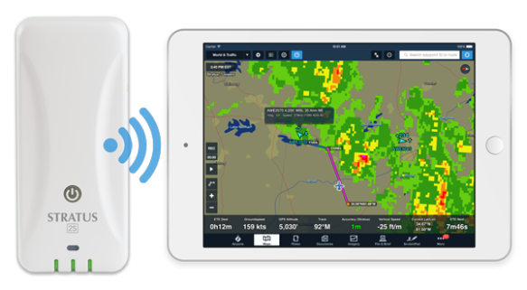 Stratus 2S, ADS-B Weather and Traffic