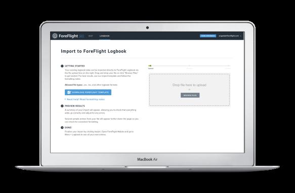 ForeFlight Web Logbook import tool