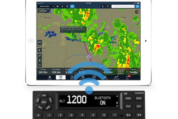 ForeFlight connectivity with GTX345
