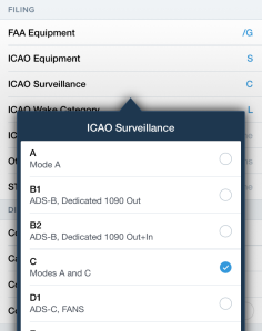 how to fill icao flight plan