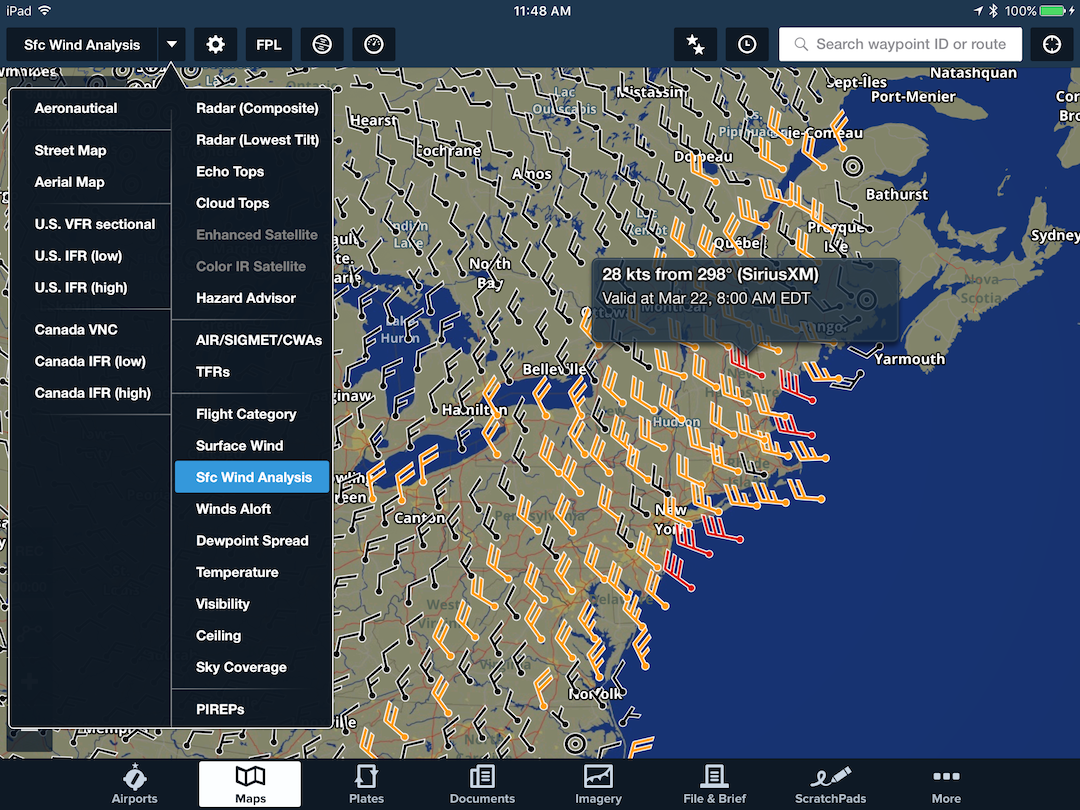 Aviation Weather Foreflight