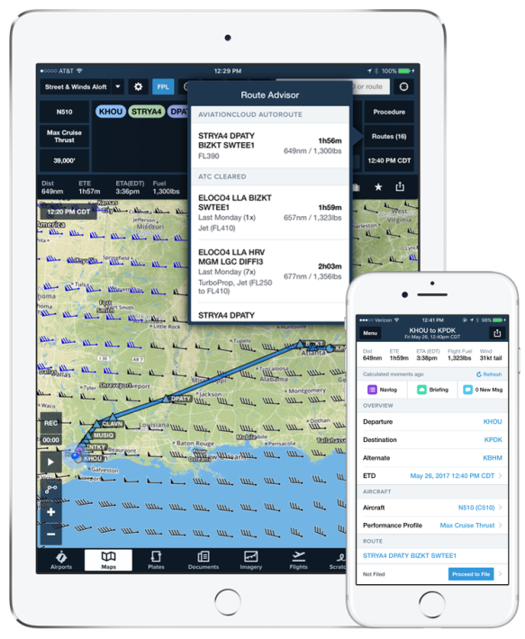 ForeFlight Performance