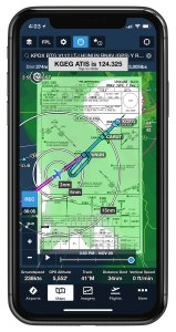ForeFlight adds support for the iPhone X's full resolution.