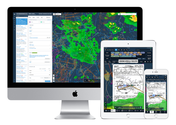 ForeFlight on mobile and web