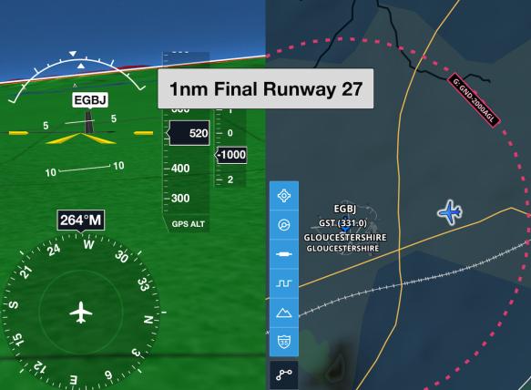 ForeFlight Runway Final Alert