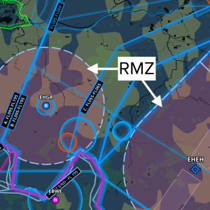 Different types of airspace are now depicted differently on the Aeronautical Map