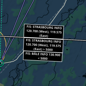 FIS boundaries now have frequency labels to help pilots locate them
