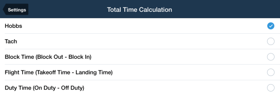 Total time calculation setting blog