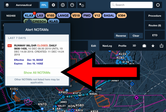 Blog Post Notam Warnings Show All