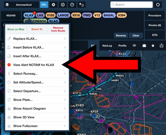 Blog Post Notam Warnings View Alert