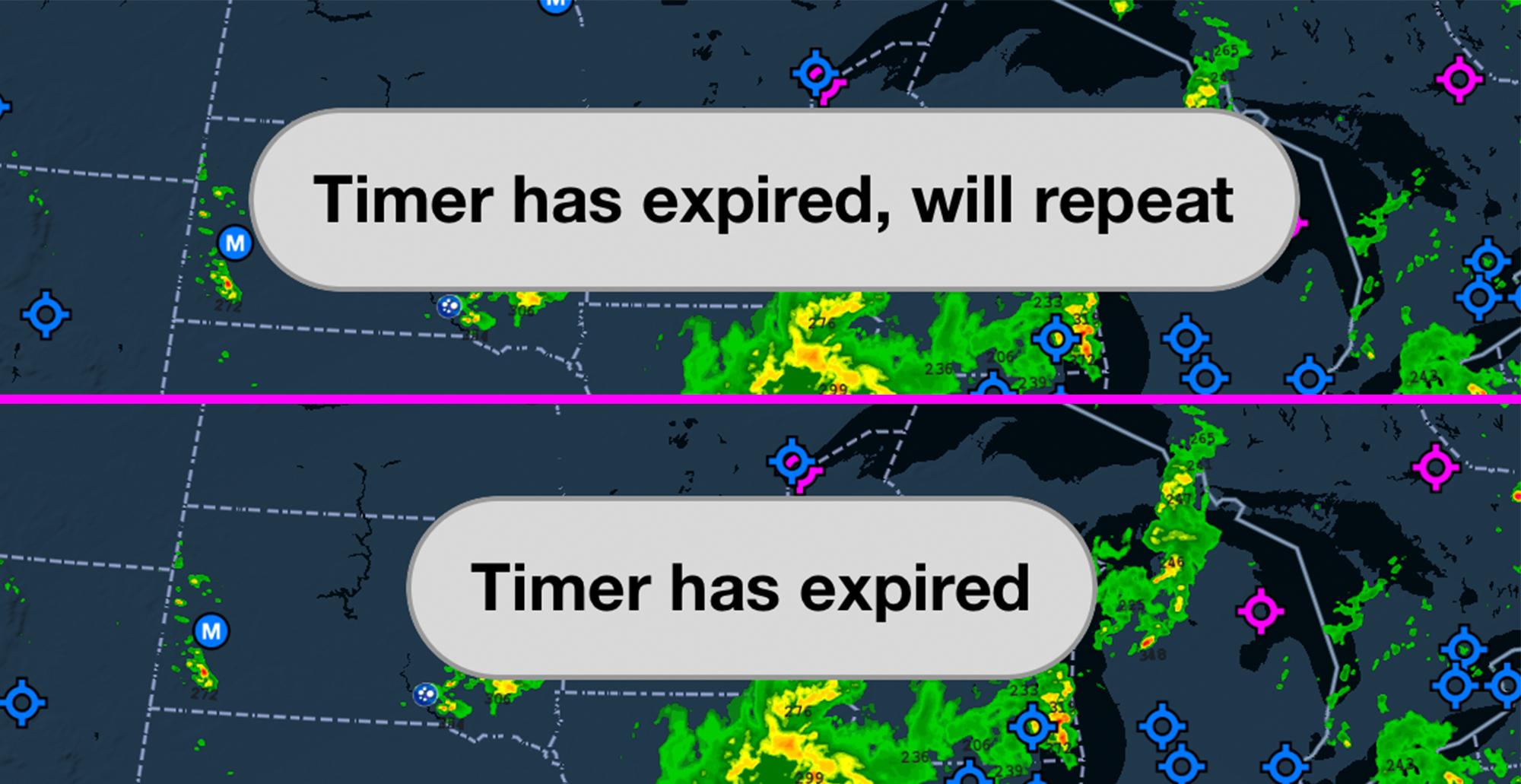 timer alerts